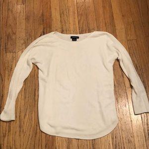 Trouvé white tunic sweater